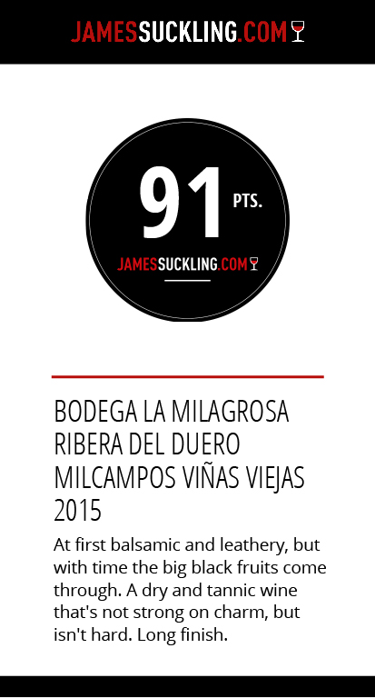 Top wines Ribera del Duero James Suckling